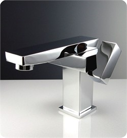 Fresca-FFT1051CH Orba Single Hole Mount Bathroom Vanity Faucet - Chrome (Shipping Included)