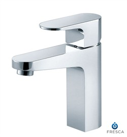 Fresca-FFT3001CH Velino Single Hole Mount Bathroom Vanity Faucet - Chrome (Shipping Included)