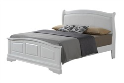 Hamlet King Bed in White - Glory Furniture G3190C-KB2