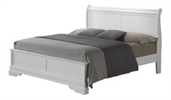 Hamlet Full Bed in White - Glory Furniture G3190E-FB3