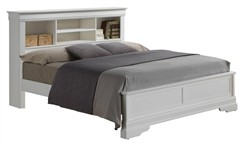 Hamlet King Bed in White - Glory Furniture G3190J-KB4