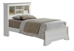 Hamlet Twin Bed in White - Glory Furniture G3190J-TB4