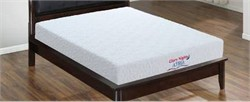 Atria Queen Mattress in White/Brown - Glory Furniture GN7540-Q