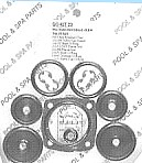 Hayward SP-410X Slide Valve Repair Kit