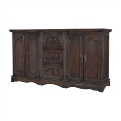 Retreat Buffet Dresser - Guild Master 605013HGS (Shipping Included)