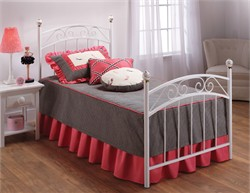 Emily Twin Bed Set - Hillsdale Furniture 11180BTWR (Shipping Included)