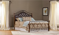 Hyde Park King Bed Set /w Rails - Hillsdale Furniture 1120BKR