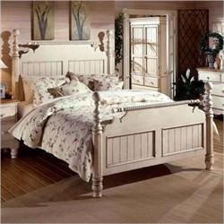 Wilshire Queen Post Bed Set - Hillsdale Furniture 1172BQR
