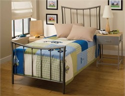 Edgewood Duo Panel Twin Bed - Hillsdale Furniture 1333BTWR (Shipping Included)