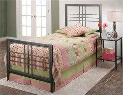 Tiburon Twin Bed Set - Hillsdale Furniture 1334BTWR