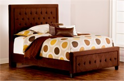 Chocolate Kaylie King / Cal King Bed Set w/ Rails - Hillsdale Furniture 1554BCKRK (Shipping Included)