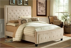Buckwheat Kaylie King / Cal King Bed Set w/ Rails - Hillsdale Furniture 1566BCKRK (Shipping Included)