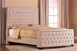 Buckwheat Kaylie Cal King Bed Set with Storage Footboard & Rails - Hillsdale Furniture 1566BCKRKS (Shipping Included)