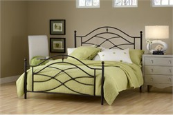 Cole King Duo Panel Bed - Hillsdale Furniture 1601BKR