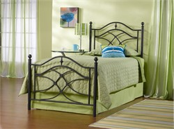 Cole Duo Panel Twin Bed - Hillsdale Furniture 1601BTWR