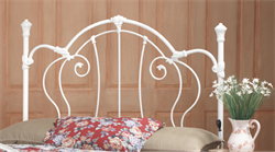 Cherie Full / Queen Headboard & Frame - Hillsdale Furniture 381HFQR (Shipping Included)