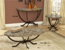 Monaco Sofa Table  - Hillsdale Furniture 4142-884