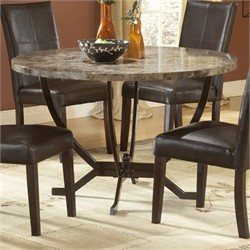 Monaco Round Dining Table - Hillsdale Furniture 4142DTB