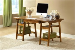 Parkglen Oak Desk - Hillsdale Furniture 4337-860