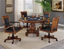 Kingston Leather Back Game Chair - Hillsdale Furniture 6004-801