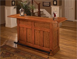 Classic Bar  - Hillsdale Furniture 62576AOAK