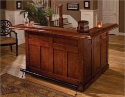 Classic Cherry Large Bar  with Side Bar - Hillsdale 62578AXCHE