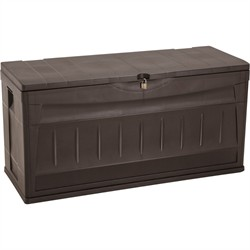 Rimax Storage Deck Box in Wengue - Inval 10011