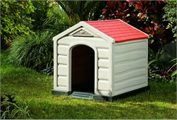 Rimax Dog House in Taupe - Inval 9995