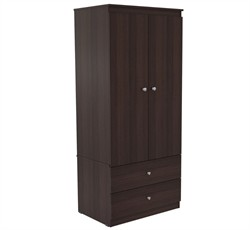 Inval America AM-14423 Armoire in Espresso-Wengue