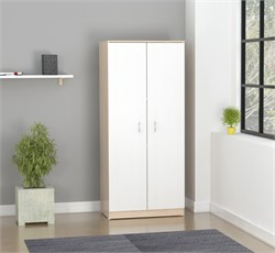 Inval America AM-16523 Armoire in Laricina/White-Beech