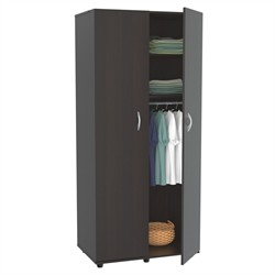 Inval America AM-2223 Espresso Two Door Armoire