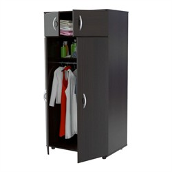 Inval America AM-2823 Espresso Four Door Armoire