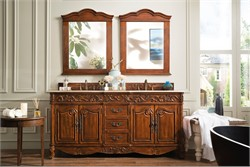 "Embassy 72"" Double Vanity in Dark Cherry - James Martin 206-001-5510"
