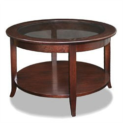 Round Coffee Table - Leick Furniture 10037