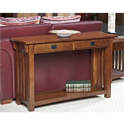 Mission Sofa Table - Leick Furniture 8233