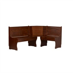 Chelsea Walnut Corner Unit ONLY - Linon 90366WAL-01-KD-U