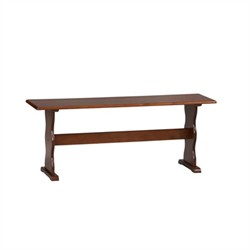 Chelsea Walnut Bench ONLY - Linon 90367WAL-01-KD-U