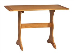 Chelsea Dining Table in Natural Finish - Linon 90368N2-01-KD-U
