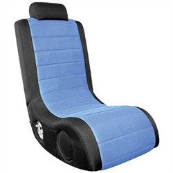 Boom Chair Gamer in Blue Finish Lumisource BM-44WR.CBK-BU