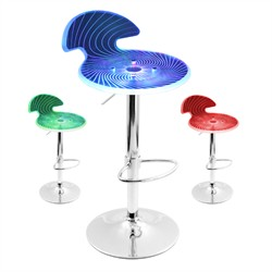 Spyra Bar Stool LumiSource BS-SPYRA