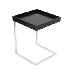 Zenn Tray End Table - LumiSource TB-ZENNKD-TR-BK