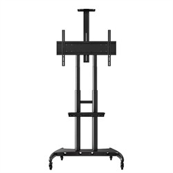Adjustable Height Large Capacity LCD TV Stand - Luxor FP4000