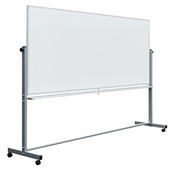 96 x 40 Double-Sided Magnetic Whiteboard - Luxor MB9640WW