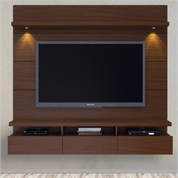 Manhattan Comfort 23751 - Cabrini Theater Entertainment Center Panel 1.8 in Nut Brown