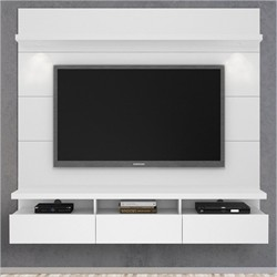Manhattan Comfort 23752 - Cabrini Theater Entertainment Center Panel 1.8 in White Gloss