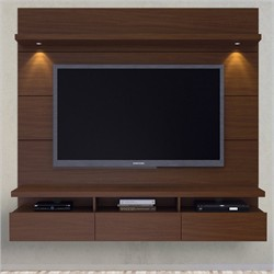 Manhattan Comfort 23851 - Cabrini Theater Entertainment Center Panel 2.2 in Nut Brown