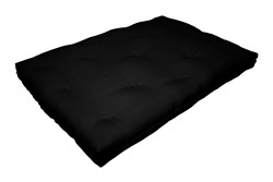 6-Inch Replacement Futon Pad, Full-Size, Black - Milton Greens Stars FP6-BK