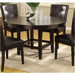 "Bossa 54"" Round Dining Table in Dark Chocolate Modus 2Y2161R"