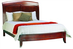 Queen Size Sleigh Bed in Cinnamon Brighton Collection Modus BR15S5