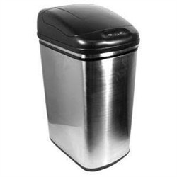 Nine Stars DZT-42-1 Stainless Steel 11.1 Gallon Touchless Trash Can